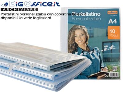 caae8e2c58 Portalistino Personalizzabile A4 - 10 Buste